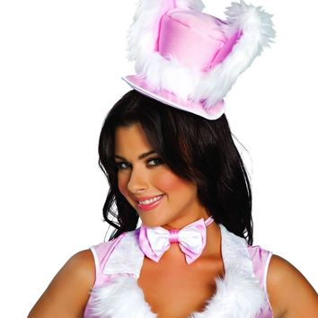 Roma Costume 4463 White Rabbit Hat