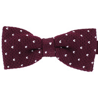 Tok Tok Designs Pre-Tied Bow Tie for Men & Teenagers (B264, Knitted)