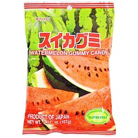 Kasugai Watermelon Gummy Candy 3.7 oz. (107g)