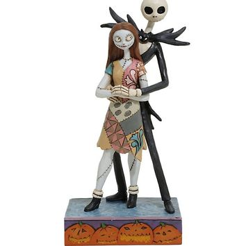 The Nightmare Before Christmas Jack & Sally Resin Figurine
