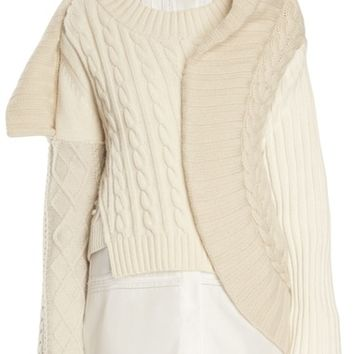 Burberry Cashmere Cable Knit Sweater | Nordstrom