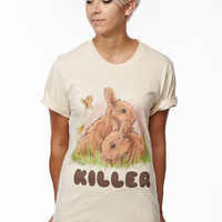 Normcore Loose Bunny Tee - Shop Jeen - powered by Hingeto