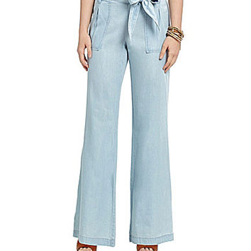 Jessica Simpson Kingston Wide-Leg Pants - Jullienne Blue