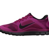 The Nike Free 4.0 Print Women's Running Shoe.