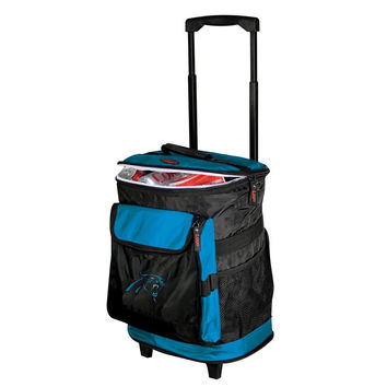 Carolina Panthers NFL Rolling Cooler