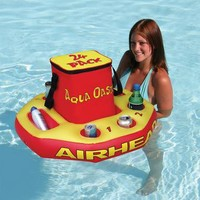 Aqua Oasis Floating Cooler | Outdoor Living | SkyMall