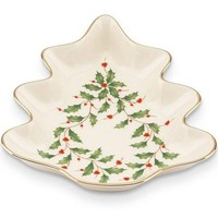 Lenox Holiday Tree Candy Dish