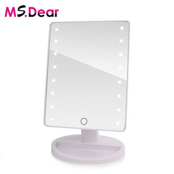 Professional Vanity LED Touch Screen Mirror