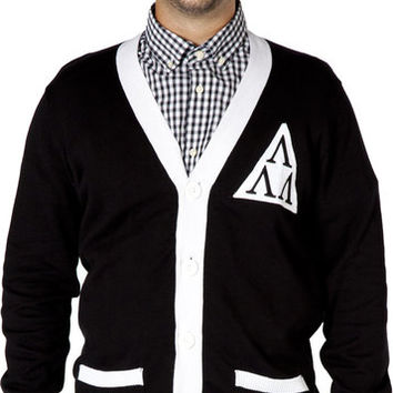 Revenge Of The Nerds Tri-Lam Cardigan Sweater