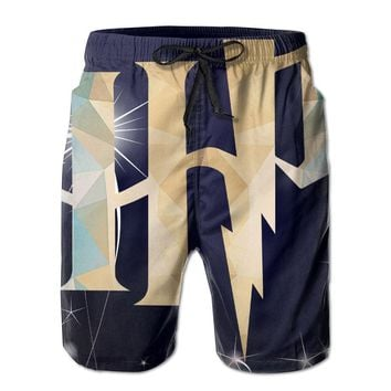 Harry Potter Inspired Hp1 Mens Fashion Casual Beach Shorts