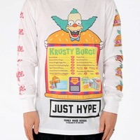 HYPE. — HYPE X SIMPSONS. KRUSTY THE CLOWN LONGSLEEVE