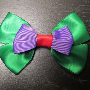 Ariel Little Mermaid Ispired Disney Bow by bulldogsenior08 on Etsy