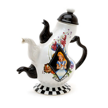 Disney Alice in Wonderland Mad Hatter's Teapot | Disney Store