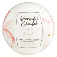 Weekends & Chocolate Tea Blush Bath Fizzy | Nordstrom