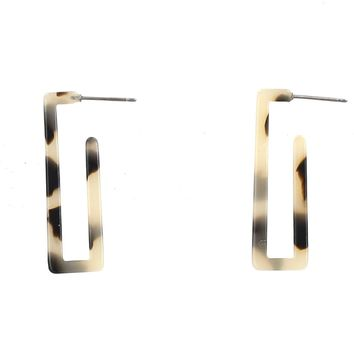 Hana Rectangle Hoops