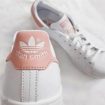 """stan smith"" Fashion Shell-toe Flats Sneakers Sport Shoes Pink"