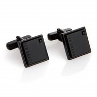 Square crystal cufflink - OSMAN - Ted Baker