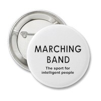 Marching Band Sport Button from Zazzle.com