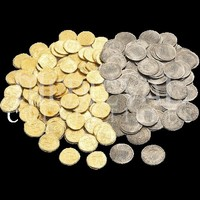 50 Mixed Pirate Treasure Coins - WR-200PTC by Medieval Collectibles