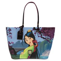 Disney Dooney & Bourke 20th Anniversary Mulan Tote Bag New with Tags