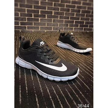 Nike HTM2 Run Boot Low TZ men and women casual sports running shoes F-CQ-YDX black+white hook