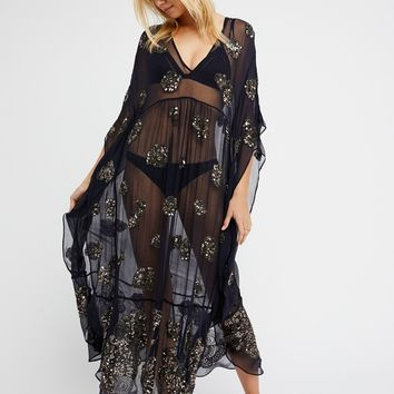 Free People Sequins For Days Maxi Dress