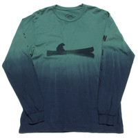 Altru Apparel Up a Creek Dip-Dye long sleeve shirt