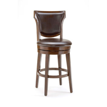 Hillsdale Furniture 4627-830 Country Rustic Cherry Swivel Bar Stool