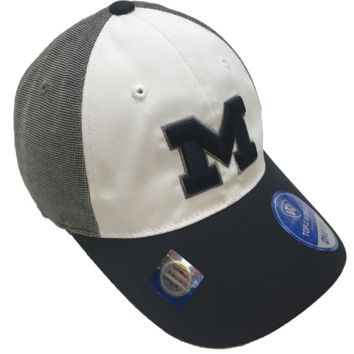 Michigan Wolverines Hustle Stretch Hat By Top Of The World