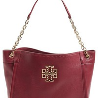 Tory Burch 'Small Britten' Leather Tote