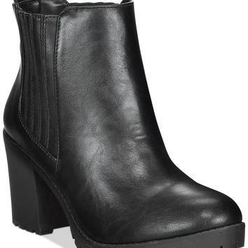 Material Girl Nina Lug Booties, Only at Macy's