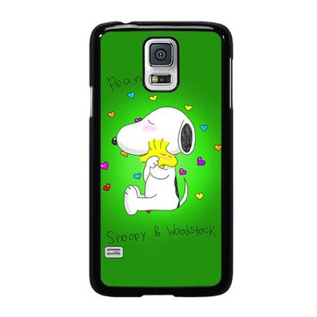 PEANUTS SNOOPY AND WOODSTOCK Samsung Galaxy S5 Case