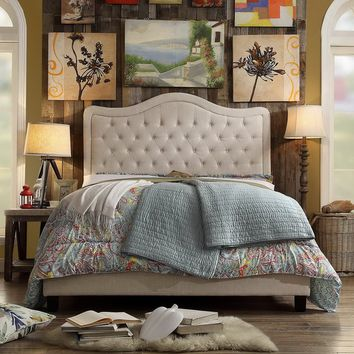 Turin Upholstered Platform Bed