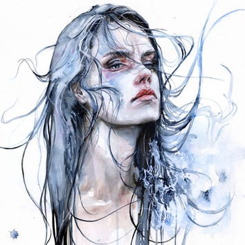 obstinate impasse Art Print by Agnes-cecile