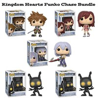 Kingdom Hearts Funko Pop! Disney Chase Bundle