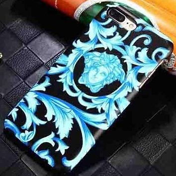 Versace Fashion Logo Print iPhone Phone Cover Case For iphone 6 6s 6plus 6s-plus 7 7plus 8 8plus