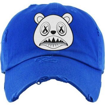 Ghost Baws Royal Blue Dad Hat