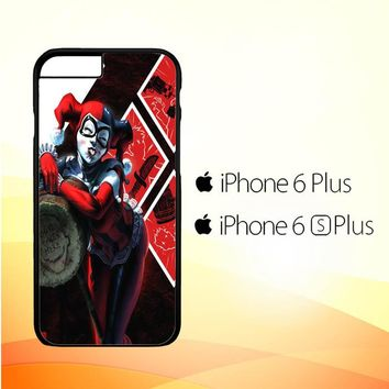 HARLEY QUINN WITH MALLET V0122 iPhone 6 Plus|6S Plus Case
