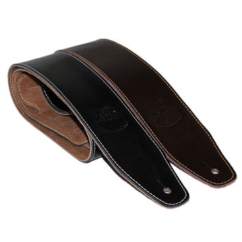 Genuine Leather Guitar Belt Strap Electric Bass Strap 145 cm Long 6 cm Wide Guitar Parts