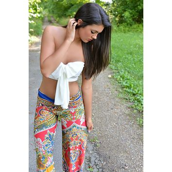 Panorama Paisley Yoga Pants