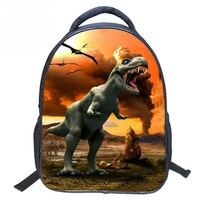 School Backpacks for kids for college 3D Dinosaur