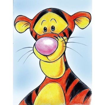 5D Diamond Painting Tigger from Winnie the Pooh Kit