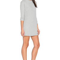Obey Sarra Dress in Heather Grey | REVOLVE