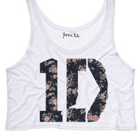 Elegant 1D Crop Tank Top