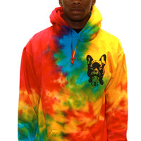The OG Walter Tie Dye Hood_Yellow