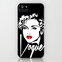 Vogue iPhone & iPod Case by LookHUMAN