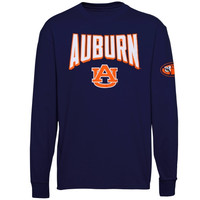 Auburn Tigers Sender Long Sleeve T-Shirt – Navy Blue