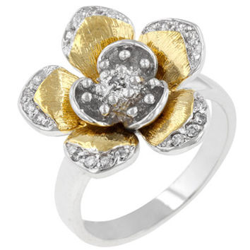 Floral Cocktail Ring
