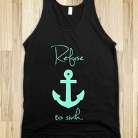 Refuse to sink Anchor Tiffany Mint