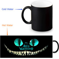 Alice in wonderland morphing mug